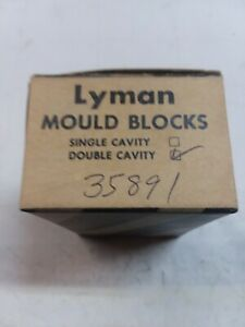 New Lyman Double Cavity Blocks #35891 for 38357 cal. 148gr. wad cutter