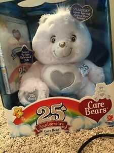 Care Bears 25th Anniversary Bear with DVD 2007 Special Collector's Edition
