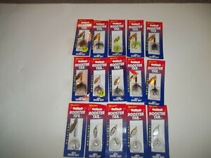 15 new Rooster Tail inline spinner fishing lure bait trout stream lake boat