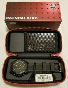 Luminox Watch Navy Seal Colormark Chronograph Black Dial Strap 3081.BO