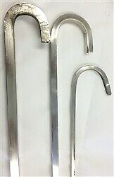StainlessSteel Barbeque Skewers for Kebab/ Tikka - 4, 6, 8 & 10 mm, rectangle