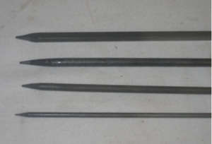 Mild Steel (Iron) Barbeque skewers for Kabab/ Tikka,Round- 4, 6, 8
