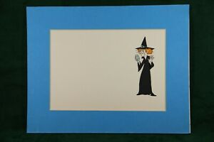 Authentic Adventures of Raggedy Ann amp; Andy Original Witch Animation Cel with COA $11.99
