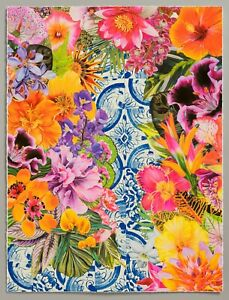 Carlos Rolon Gild the Lily (Caribbean Azulejo), 2019 Ltd Ed Signed Print 24