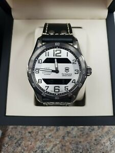 Victorinox Swiss Army Chrono Classic XLS AnalogDigital Gunmetal Case 241301