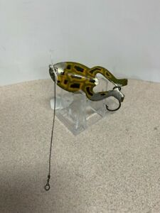 Hedden Spoon Frog lure condition is used