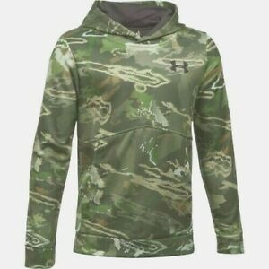 Under Armour Hoodie Boy's XL Forest Camo Hoody New With Tags