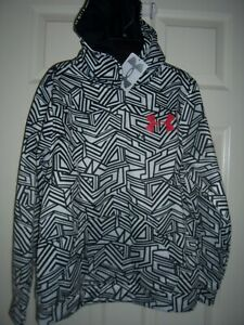 Under Armour Hoodie Boy's Large Patterned Pullover Logo Hoodie New With Tags