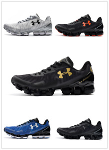 NEW Under Armour Scorpio 2 Mens Black Running Road Sports Shoes Trainers