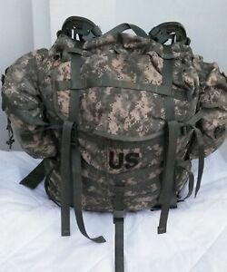MOLLE II ACU Large Rucksack Field Pack Complete w Frame US Military Army VGC