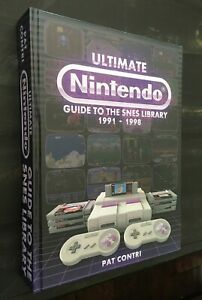 Ultimate Nintendo: Guide to the SNES Library 1991 1998 Hardcover Book