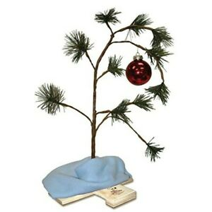 Product Works 24 Inch Charlie Brown Musical Christmas Tree