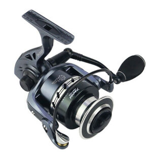 1x Ultralight Gapless Spinning Reel Wheel L R Handle Adjustable Sea Lake Fishing