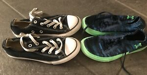 Converse & Under Armour Tennis Shoes Size 13K
