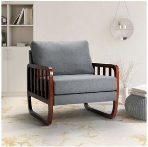 Modern Furniture Large Classic Fabric Living Room Chaise Lounge Single Sofa $199.00