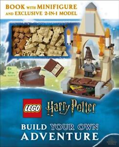 Build Own Adventure Lego Harry Potter Minifigure 2 in 1 Model Book 101 Bricks