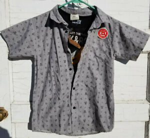Smiths American 2 Piece Over amp; Under Boys Shirt Set Sizes 10 12 and M Tee $22.99