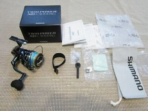 Shimano 17 Twin power XD C5000 XG Limited Good condition Genuine Japan Best