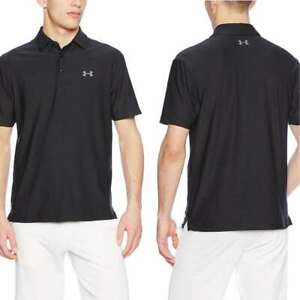 Under Armour Men's Playoff Polo, Black Graphite, Small $59.95