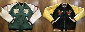 HUMAN MADE YOKOSUKA JACKET Reversible SOUVENIR JACKET Size M from japan New EMS