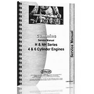 New Service Manual Made For Cummins H NH