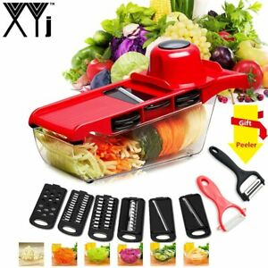 Vegetable and fruit Slicer with Steel Blade Mandoline Slicer Cutter Kitchen Tool