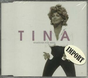 TINA TURNER Whatever You Need w Best amp; River High LIVE amp; VIDEO CD Single SEALED