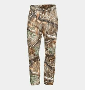 Under Armour Men's Size 42x30 Field Ops Pants Camo Hunting Realtree Edge