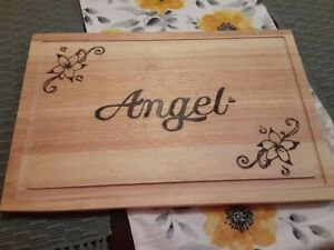 Customized Cutting Boards, different sizes, small, medium, and large.