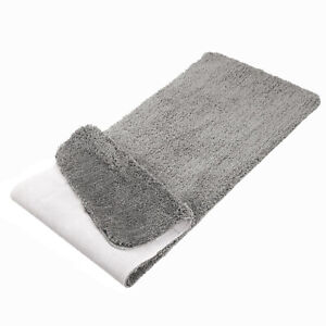 AOACreations Bathroom Rug Bathmat Non-Slip Soft Shaggy Plush Runner Floor Mats