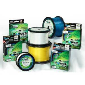 PowerPro Hollow Ace Braided Line 1500 Yard Spool 3 Color Choices