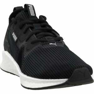 Puma Nrgy Star Femme Womens Running Sneakers Shoes Black $39.99
