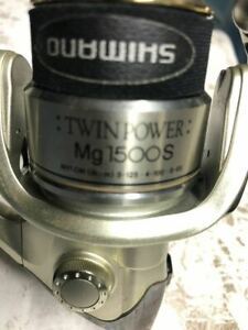 Used Shimano TWIN POWER Mg1500s Limited Good condition Genuine Japan Best pr