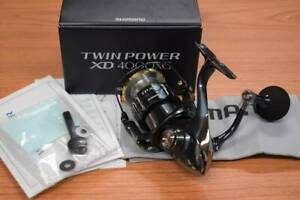 Used Shimano 17 XD 4000XG SHIMANO TWIN POWER Limited Good condition Genuine