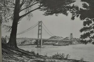 C.F. Stanbrough 1979 San Francisco Golden Gate Bridge 11
