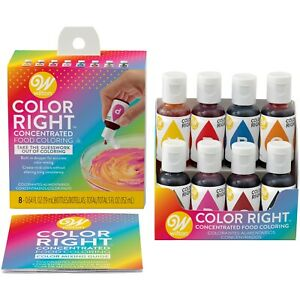 Wilton Color Right Performance Food Coloring Set 8 piece $18.99