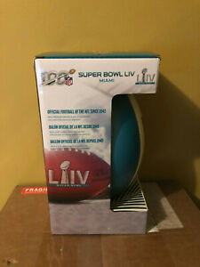 Wilson SUPER BOWL LIV 54 Football Limited Edition 54 Miami Official Pro Size $499.99