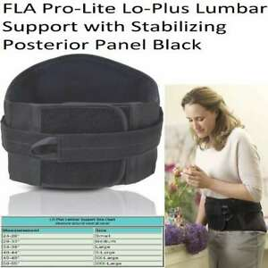 FLA Prolite Lo Plus Lumbar Support SIZES AVAILABLE $35.00
