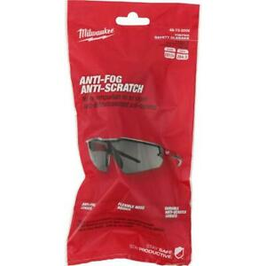 Milwaukee 48 73 2006 Durable Anti Scratch Fog Tinted Safety Glasses $9.97