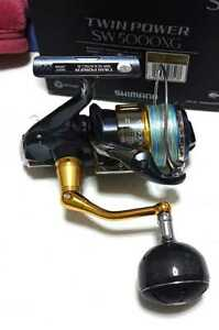 Shimano 15 Twin power SW5000XG spinning reelLimited Good condition Genuine J