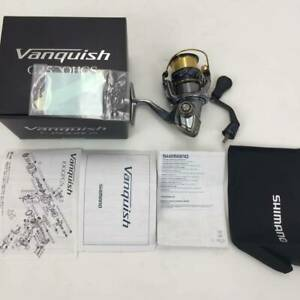 SHIMANO spinning reel 16 Vanquish C2500HGSLimited Good condition Genuine Jap