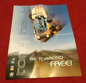 Collectible TONY HAWK Skateboarding Poster 16 x 20 In. Outdoor Sporting Goods
