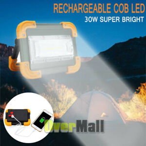 90000LM LED Working Work Light Waterproof Rechargeable Emergency Lamp Power Bank $23.72
