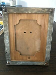 5x7 Wood amp; Metal picture frame New