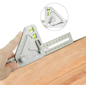 Woodworking Triangle Ruler Angle Ruler Carpentry Measuring Tool Multi-function  $10.89
