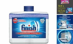 Finish Dual Action Dishwasher Cleaner: Fight Grease & Limescale, Pack of 1