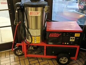 Used Hotsy 1410SS hot water pressure washer