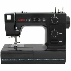 Janome Sewing Machine Model Heavy Duty HD1000 BE Black Edition Refurbished $269.00