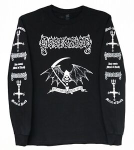 DISSECTION anti cosmic metal of death LONG SLEEVE SHIRT SmallMedium Large XL XXL $22.00