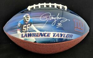 Lawrence Taylor Autographed Full Size Football Limited Edition of 56 $199.00